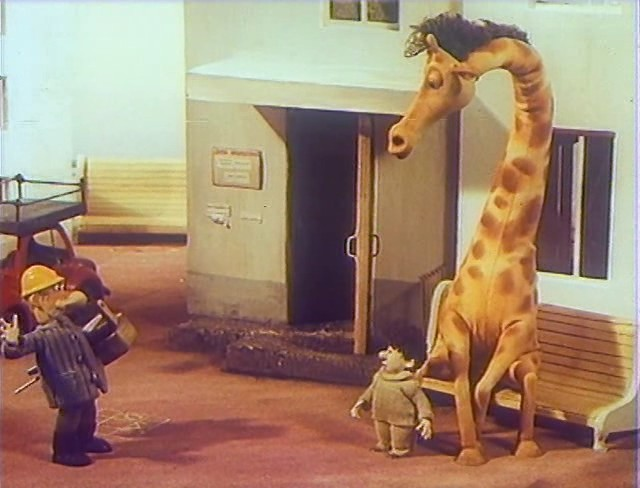 В зоопарке ремонт