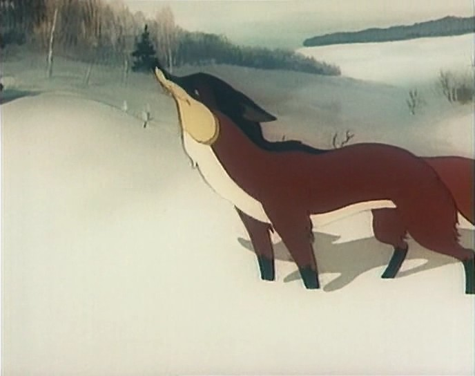 Ворона и лисица. Кукушка и петух