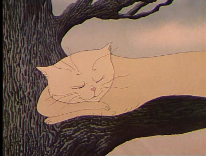 Дерево и кошка